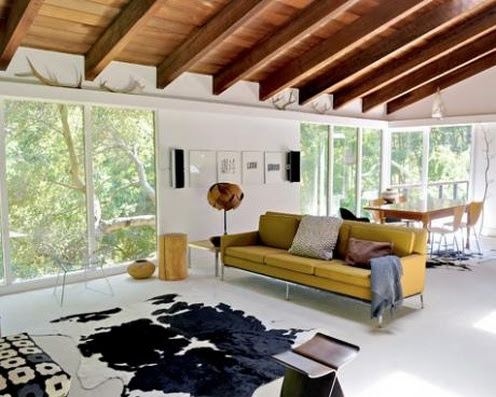 Modern Interior of a Country House of Jean Orlebeke B