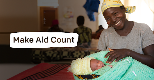 SEND A POSTCARD: Make aid count