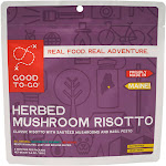 Good To-Go Herbed Mushroom Risotto - 2 servings, 6.6 oz pouch
