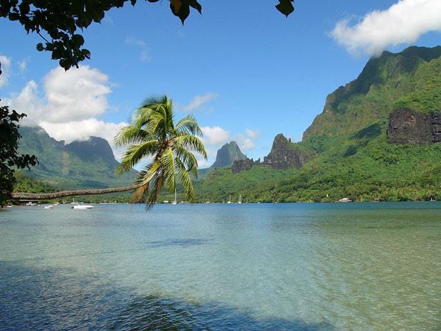 Moorea, ilha na Polinésia Francesa (Foto: Creative Commons/Evil Monkey)