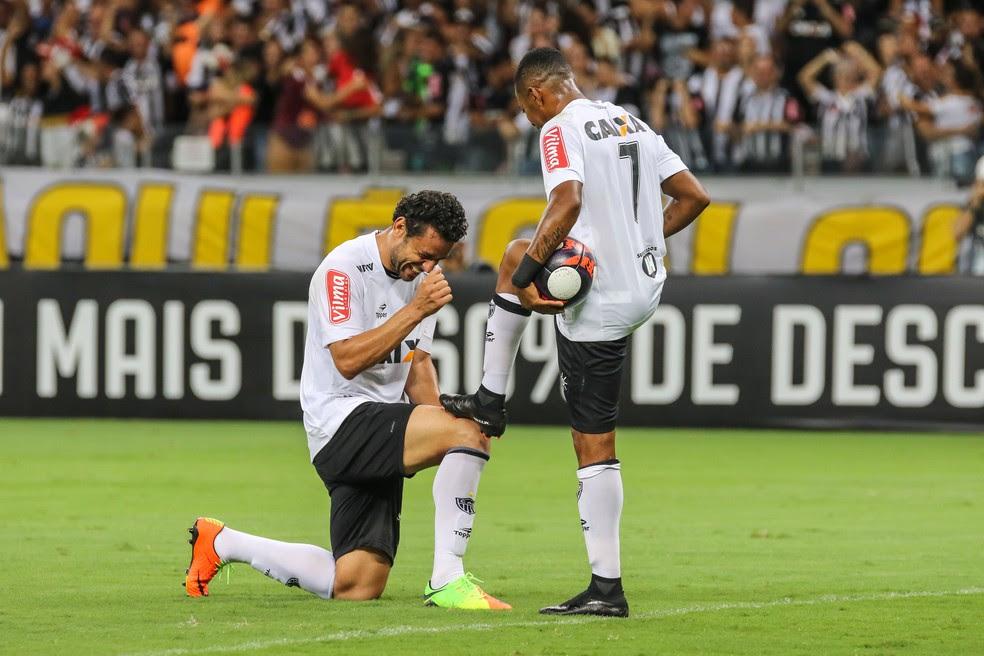 Fred e Robinho têm a missão de manter boa escrita do Galo em estreias; neste sábado, Galo pega o Flamengo (Foto: Bruno Cantini/Atlético-MG)