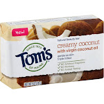 Toms of Maine Beauty Bar, Natural, Creamy Coconut - 5 oz