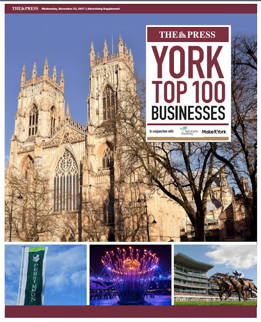 First exclusive list of York's Top 100 Businesses