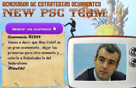 Imagen de 'El generador de ocurrencias del New PSC Team'.