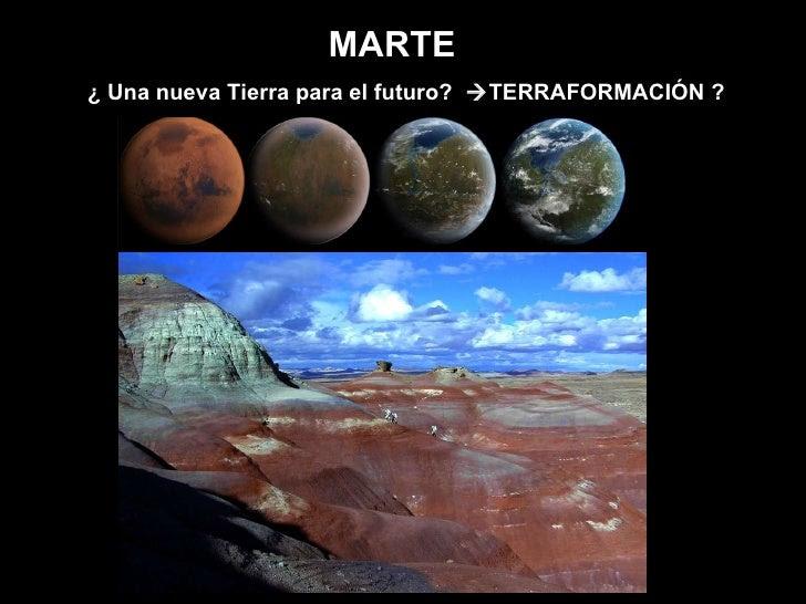 Resultado de imagen para la terraformación de marte