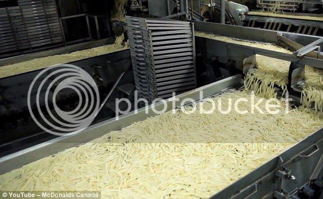 Como se han las patatas fritas de McDonald
