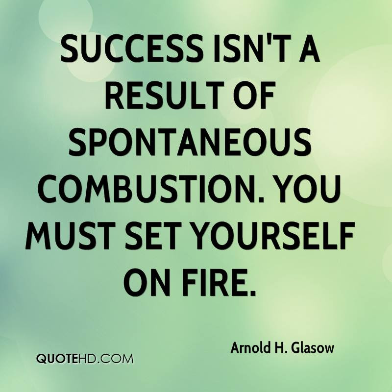 Arnold H Glasow Success Quotes Quotehd