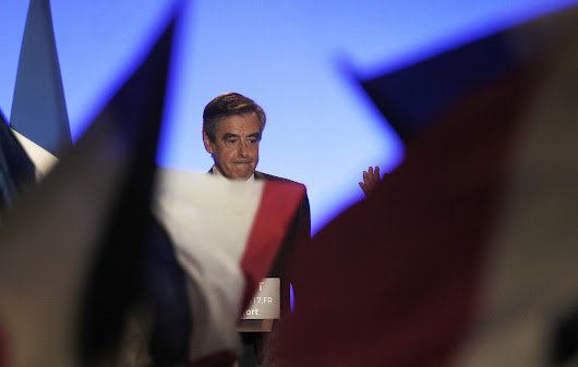 France opens full fake jobs inquiry into presidential candidate Fillon