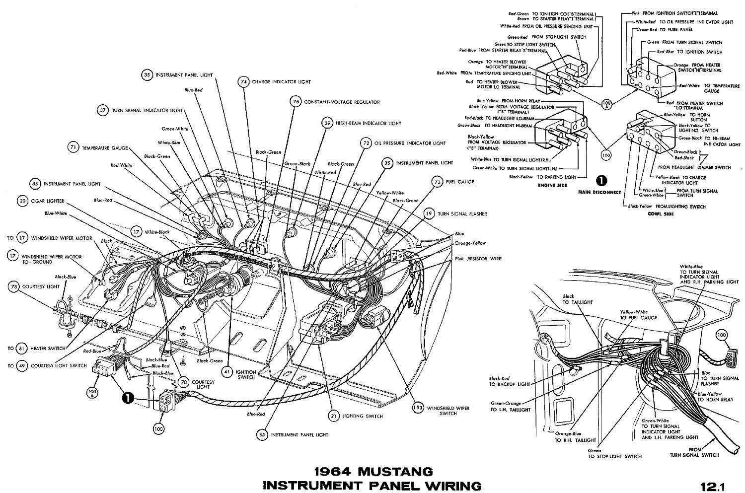 1969 Chevelle Horn Relay Wiring Diagram