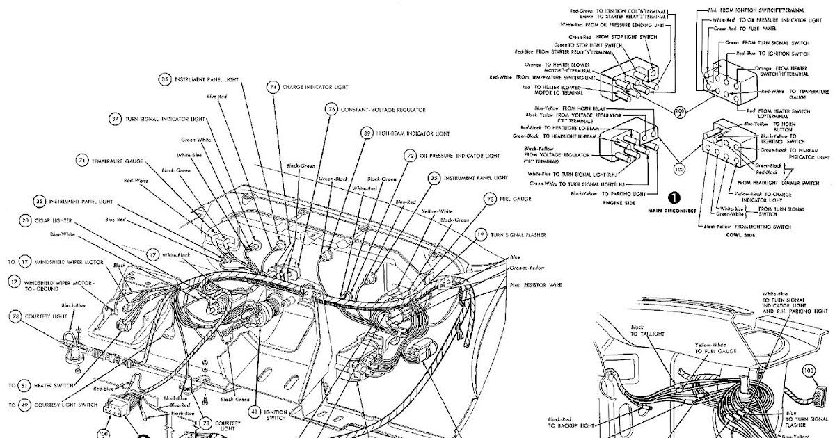 1969 Chevelle Horn Relay Wiring Diagram