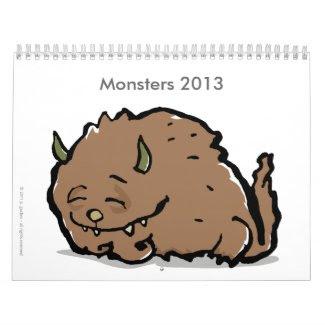 monsters 2012 (customizable)