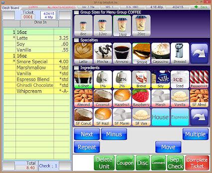 Selbysoft google for Coffee shop design software