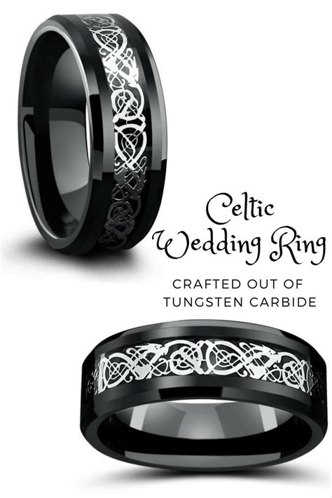 celtic wedding bands ideas  pinterest celtic