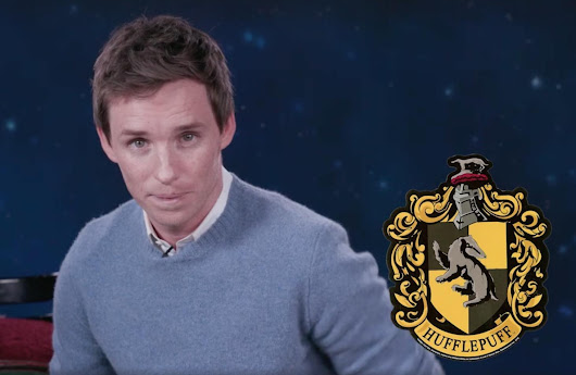 Eddie Redmayne calls for better treatment of Hufflepuffs in PSA