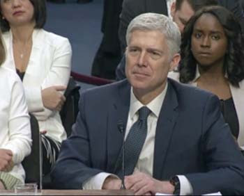 Gorsuch hearings