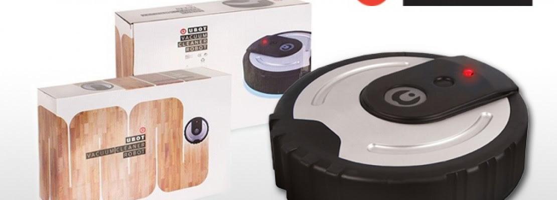 uBot: Δείτε την ρομποτική σκούπα-σφουγκαρίστρα σε δράση (ΒΙΝΤΕΟ)