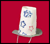 Patriotic<br />  Top Hat   : Parade Crafts Instructions