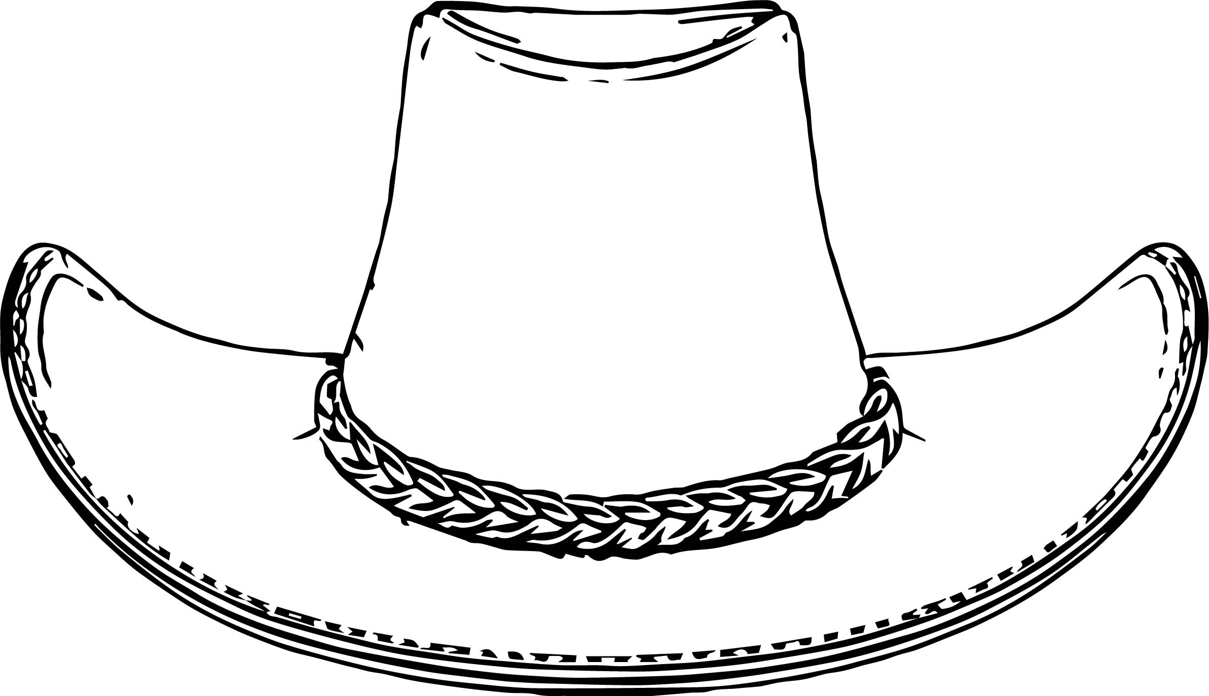 Cowboy Hat Coloring Pages Wecoloringpage.com - Coloring Pages