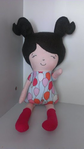 ITH dolly handmade with love by c.j.
