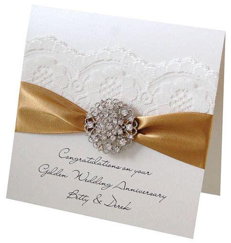 Opulence Wedding Anniversary Card   Wedding anniversary
