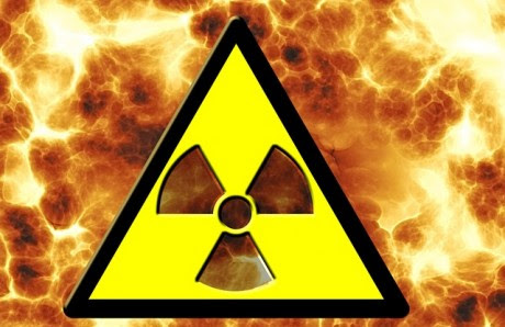 Nuclear Danger Sign - Public Domain