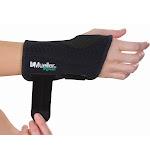 Mueller Green Fitted Wrist Brace-L/XL-Right