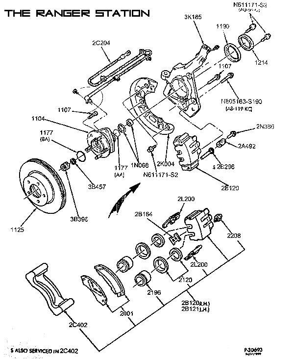 Wiring Diagram: 34 Ford Ranger Rear Brake Diagram