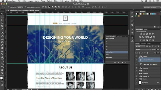 lynda.com Training | Photoshop CC for Web Design
