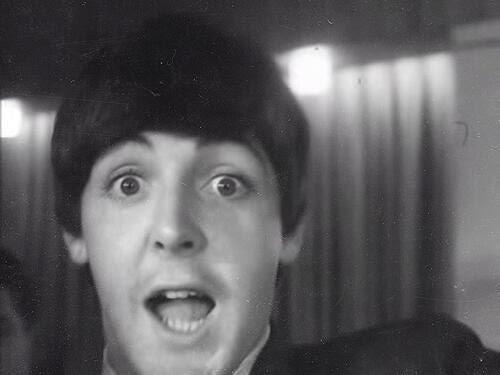 "Paul McCartney Invented The Selfie? + Lyric Video for ""New"" 