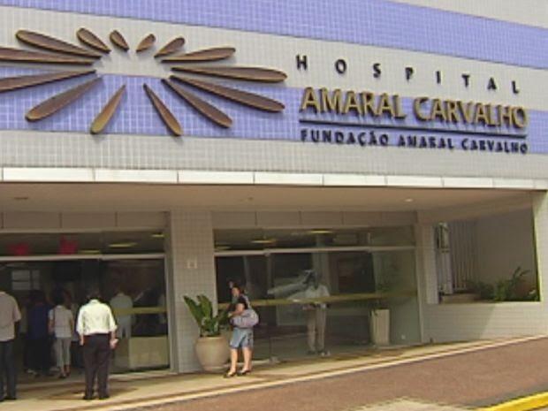 Amaral Carvalho é referência no tratamento do câncer na região  (Foto: reprodução/TV Tem)