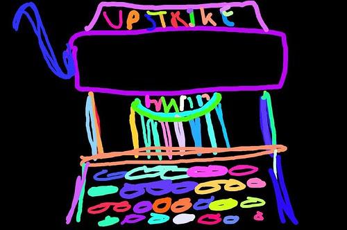Typewriter doodle #2
