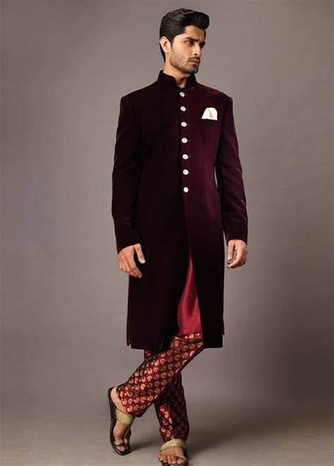 Latest Mens Wedding Sherwani Trends 2018 by Top Pakistani