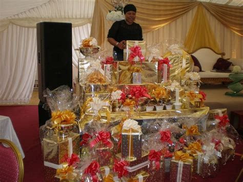 Yoruba Engagement List     of gifts the Groom's family