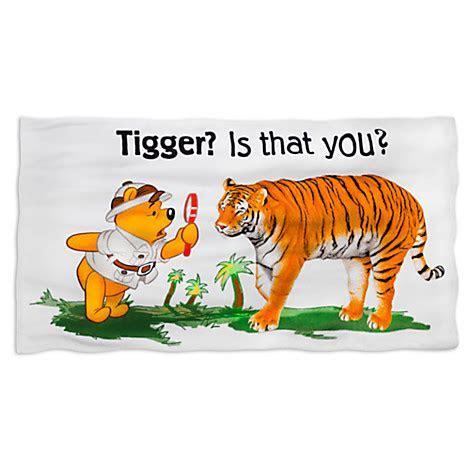 Disney Beach Towel   Safari Pooh   Tigger is that you?