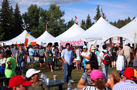 BHESA organized the Bangladesh Pavilion at the Heritage Festival in Edmonton