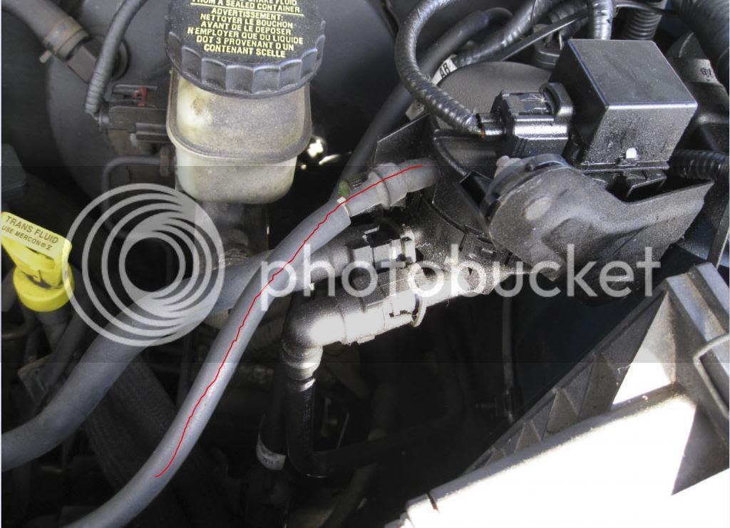 2001 Ford Escape Vacuum Hose Diagram