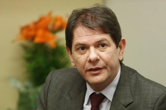O ministro da Educacao Cid Gomes