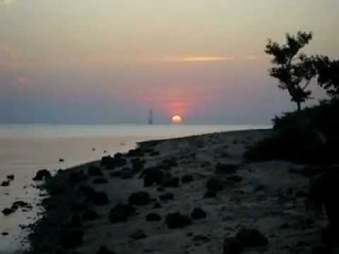Sunset di Pantai Perawan di Jepara - Video