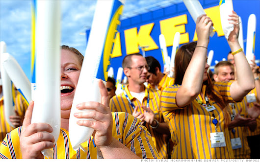 Ikea lifting minimum wage to nearly $11 an hour