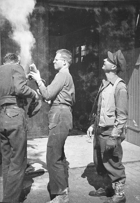 Ambulanzieri a Bergen Belsen