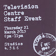 I went to the Television Centre Staff Event
