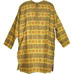 India Arts Kurta Shirt Om Symbol 100% Cotton
