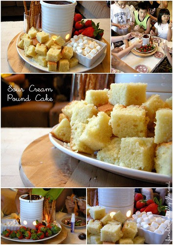 sourcream pound cake