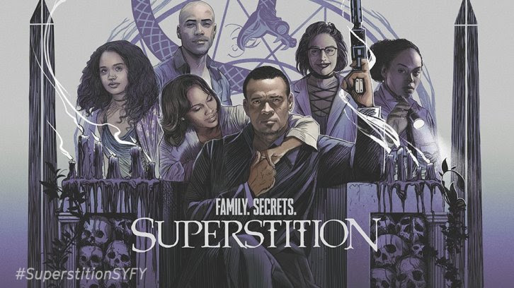 Superstition - First Look Promo, New Premiere Date & Poster