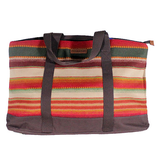 Pendleton Santa Fe Stripe Ultimate Tote