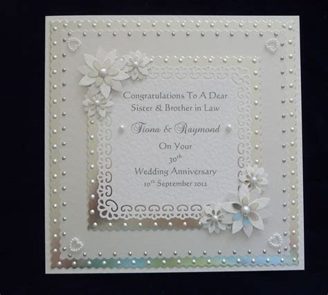 Silver Wedding Anniversary Cards For Parents More   50th