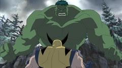 Hulk vs Wolverine 8