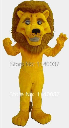 Discount mascot yellow lion mascot costume custom fancy costume anime cosplay mascotte theme fancy dress carnival costume