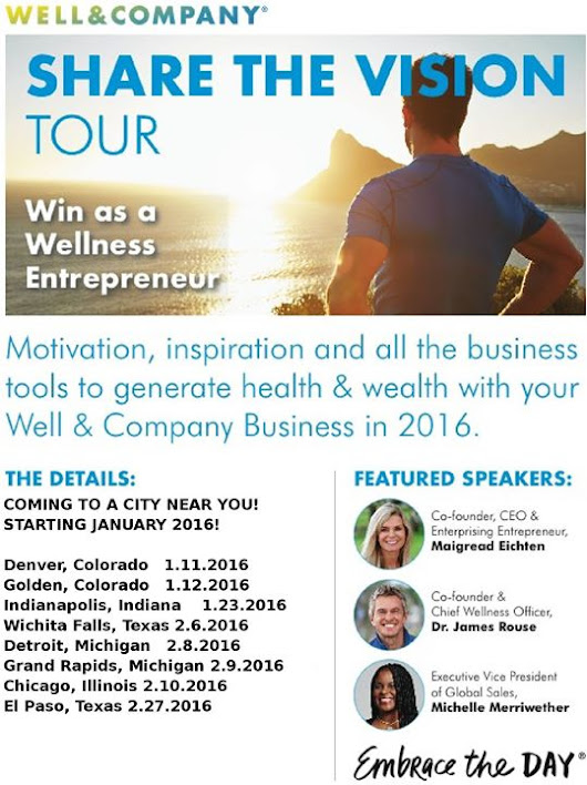 Share the Vision Tour - Meet Dr. James Rouse & Join the Self-Care Revolution!