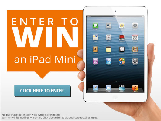 New Facebook Sweepstakes! Enter to Win an iPad Mini!